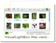Javascript Image Viewer  Mac version - Main Window