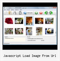 Javascript Load Image From Url style popup center